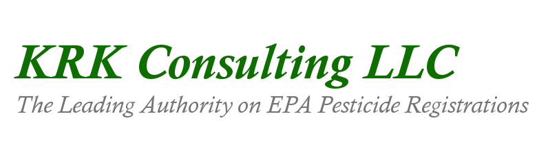 KRK Consulting LLC | The Leading Authority on EPA Pesticide Registrations